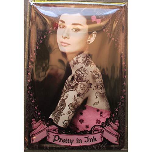 hotrodspirit - Plakette edburn Tattoo Pretty in Ink Tattoo Rock Werbezeitung Metall Pub
