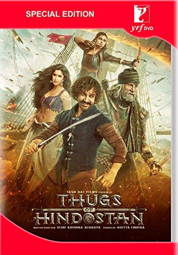 THUGS OF HINDOSTAN Film ~ 2 DVD Pack ~ Bollywood ~ Amitabh Bachchan, Aamir Khan & Kathrina Kaif ~ Hindi mit englischem Untertit