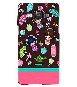 Citydreamz Little girl/Babies/Beautiful/Cartoon Hard Polycarbonate Designer Back Case Cover For Samsung Galaxy J2