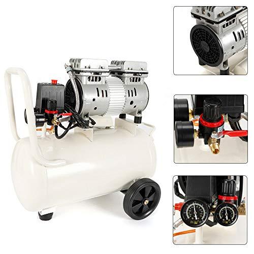 Compresor aire silencioso sin aceite 30L 750W MOMOJA