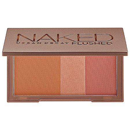 Urban Decay Naked Flushed Bronzer–ucolor Naked–Poudre Bronzante (Satin Medium Bronze)/Highlighter (Soft Pink Champagne Shimmer)/Blush (Dusty Rose w/Hint of)–USA –