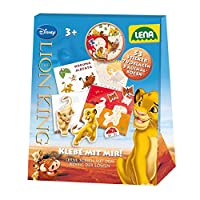 Lena 42639 sticker, Disney lion king, stationery