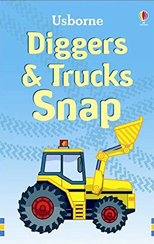 Trucks and Diggers Snap (Usborne Snap Cards)