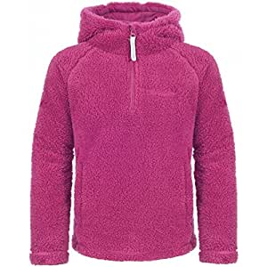 Trespass Snuffle Girls Fleece - Size: 2-3 Years, Color: Bubblegum