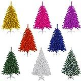 Künstlicher Weihnachtsbaum 120cm hoch – Farbe: Grün - 4