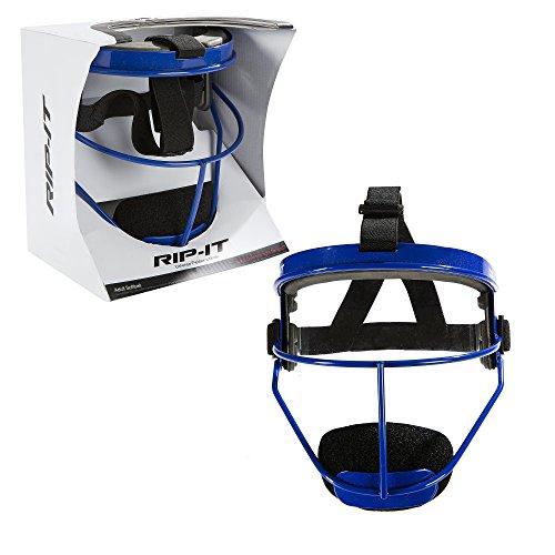rip-it Defense Softball Feldspieler 's Mask-leicht Sichere Passform bietet maximalen Schutz und Komfort-nicht Behindert wird View-Pferdeschwanz Freundlicher, unisex, RIPDG-A-R, königsblau, Für Erwachsene -