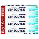 Sensodyne Sensitive Toothpaste Combi Pack - 75 g (Fresh Gel, Buy 3 Get 1 Free)
