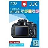 JJC Guard Film Protection d'écran pour Canon EOS 650D, 700D / Rebel T4i, T5i (2 pièces) - protection