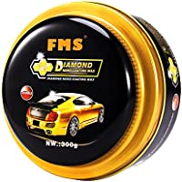 FMS Paste Wax Ultra Brillo Pasta de Cera de Carnaúba Cera para coche, 300g