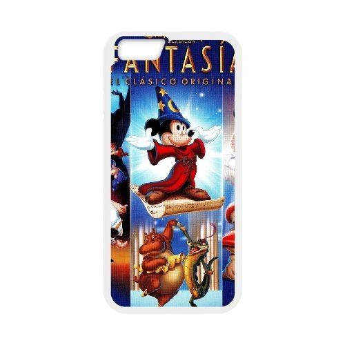 iphone6 4.7 inch White phone case Disney Cartoon Comic Series Fantasia QBC3068769