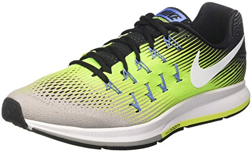 Nike Air Zoom Pegasus 33, Scarpe da Corsa Uomo Multicolore (Ghost Green/Black/Pure Platinum)