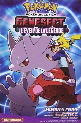 Pokémon, le film: Genesect et l'éveil de la légende de Momota INOUE ( 10 avril 2014 )