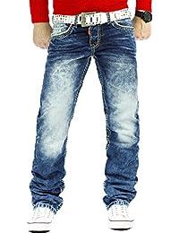 Cipo & Baxx Herren Jeans Mens Pants Freizeit-hose Clubwear Dicke Naht Designer