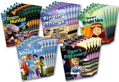 Project X Origins: Turquoise Book Band, Oxford Level 7: Discovery: Class Pack of 30