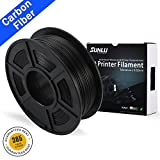 SUNLU PLA Carbon Fiber 3D Printer Filament, PLA Carbon Fiber 1.75 mm, 3D Printing filament Low Odor...