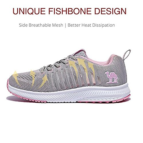 Camel Women's Running Shoes Breathable Mesh Lightweight Athletic Sneakers Sports Shockproof Fashion Walking Shoes
