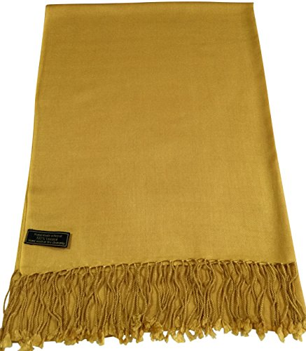 cj-apparel-gold-solid-colour-design-nepalese-shawl-pashmina-scarf-wrap-seconds-new
