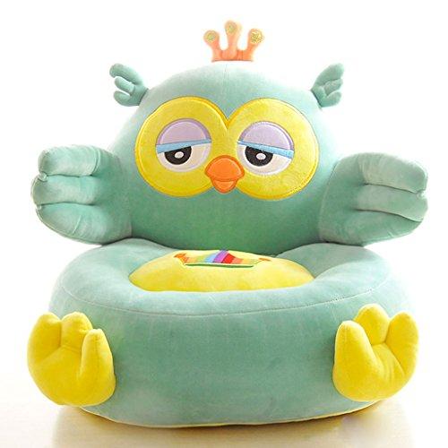 WYQLZ Creative Enfant Petit Canapé Maison de Bande Dessinée Bébé Tabouret Belle Paresseux Siège Enfant Cadeau D'anniversaire 50 * 40 * 40 cm ( conception : Owl )