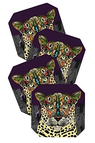 Turner Leopard Queen Untersetzer, 4Stück ()