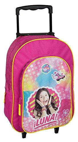 Undercover SORN8127 Trolley für Kinder, Disney Soy Luna, ca. 36 x 25 x 10 cm
