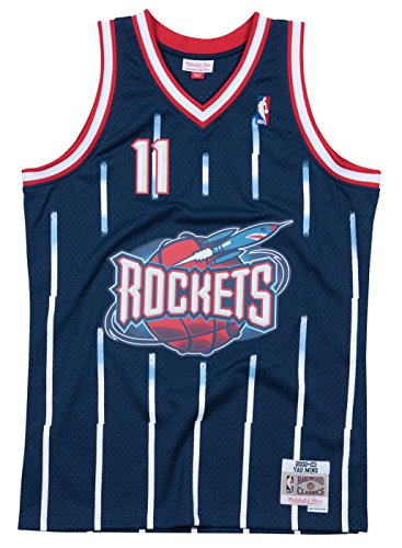 Yao Ming Houston Rockets Mitchell & Ness NBA Swingman HWC Jersey - Navy (Swingman Houston Rockets)