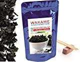 Wakame Dried Seafood from Brittany - France 50 g Instant 3' Premium Quallity - Resealing stand-up pouch - by bleumarine Bretania