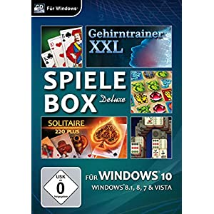 Spielebox Deluxe für Windows 10 [PC]