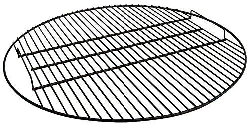 Sunnydaze Noir Fire Pit Grille à rôtir, 19 cm diamètre 19 Inch noir