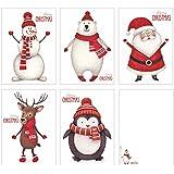 10 Weihnachtskarten | Set mit 5 Motiven Weihnachten Weihnachtspostkartenset | Edel, fein und exklusiv aus der Editor's Collection von ArtUp