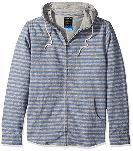 KAVU Baja Zip, Herren, Workwear Blue Xl Workwear-snap