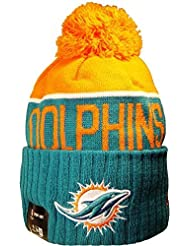 Miami Dolphins Hat Knit Beanie Jersey Hoodie Sweatshirt T-Shirt Flag Apparel by Officially Licensed by The NFL