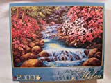 Schaefer Miles 2000 Piece Jigsaw Puzzle: Tranquil Waterfall