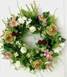Florissima Blumenkranz Türkranz Kranz Ranunkeln