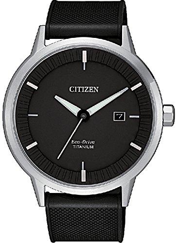 Orologio citizen eco drive modern design super titanium bm7420-15e