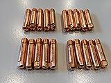 Hst 20 Stück MIG MAG Stromdüse 0,8 x25 mm M6 MB15 TBi150 Schweißdüse Düsen Schweißen
