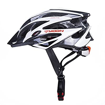 Babimax Airflow Bike Helmet with detachable Visor, Padded & Adjustable - Safety Certified - for Adult Men & Women and Teen Boys & Girls - Comfortable , Lightweight , Breathable by KS-001