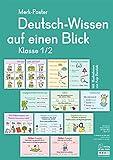 Merk-Poster - Klasse 1/2 - Deutsch-Wissen auf einen Blick