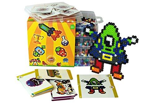simbrix 'Maker Kit' für Fans von Lego & Hama Perlen–Keine Peg Board oder Bügeln erforderlich (Perlen-maker)