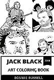 Jack Black Art Coloring Book: Tenacious D Superstar and World Class Comedian, Jumanji Star and Writer Inspired Adult Coloring Book