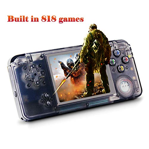 XinXu Built in 818 Classic Games Game Console,Handheld Retro Games Consoles Video Game Player for Kids Children Birthday