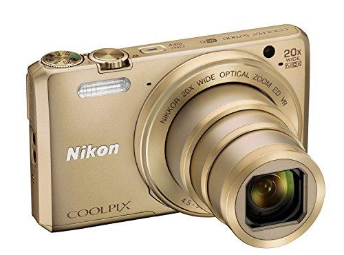 Nikon Coolpix S7000 Digitalkamera (16 Megapixel, 20-fach opt. Zoom, 7,6 cm (3 Zoll) LCD-Display, USB 2.0, bildstabilisiert) gold - 4