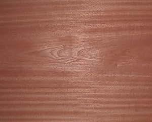 Flexible en acajou (sapelli) placage bois 243,8x 30,5cm... livraison gratuite