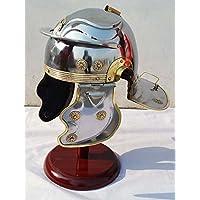 Shiv Shakti Enterprises Centurione ufficiali medievale armatura casco  ottone accenti senza Plume e23eb3ac4ce
