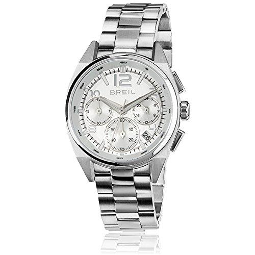 Orologio breil master unisex cronografo argento - tw1410