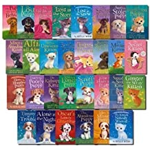 Holly Webb 30 Books Collection Set Puppy and Kitten - Animal Stories Pet Rescue Adventure Series