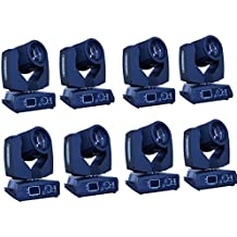 Eshine DMX 16/20 Channels Touch Screen 7R Sharpy Beam 230W Moving Head Light stage Lighting For Wedding Christmas Birthday DJ Disco KTV Bar Event Party Show (8PCS)