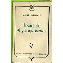 Traite de physiognomonie
