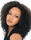 Perruque & xzl Perruques Fashion Couleur naturelle machine fait perruques frisées 20''kinky vierges perruques de cheveux humains brésiliens avec des cheveux de bébé pour