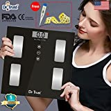 #7: Dr Trust (USA) Precision Body Composition Monitor Fat Analyzer & Weighing Scale With Digital Thermometer and Measuring tape