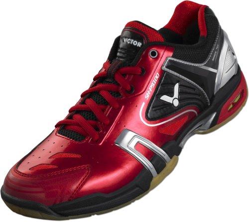 VICTOR Trainingsschuh V-100 802/3/6, Chaussures de course à pied mixte adulte Rouge